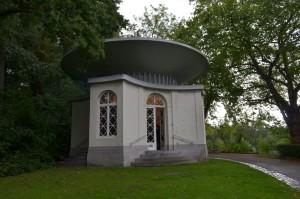 Restant van de pagode, Boekenbergpark, Antwerpen-Deurne