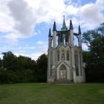 Neogotisch Toren (Tsjechië, Krásný Dvůr) [Foto: Hetty Wilming]