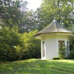 Theekoepel, landgoed Gooilust (Noord-Holland, 's-Graveland) [Foto: Hetty Wilming]