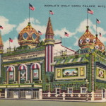 World's only Corn Palace, Mitchell (USA, South Dakota) [Coll. Anton Nuijten]