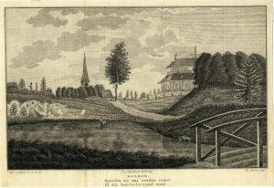 Villa Peking, ets, 'Eemlandsch Tempe', 1803 (Utrecht, Baarn) [Coll. Het Utrechts Archief]