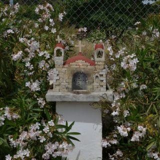 Mini kerkje, Ampelouzos (Griekenland,Kreta)