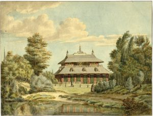 't Sineese Huis Peeking, Anoniem, ca. 1800 (Utrecht, Baarn) [Coll. Het Utrechts Archief]